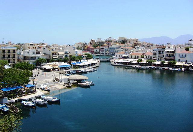 Agios Nikolaos - Lake Voulismeni,, Crete - photo Artemiy Pavlov