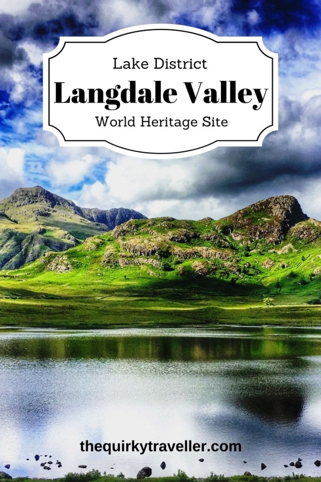 Langdale Valley in the Lake District World Heritage Site