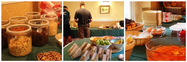 Packed lunch selection at HF Holidays Larpool Hall Whitby - image zoedawes