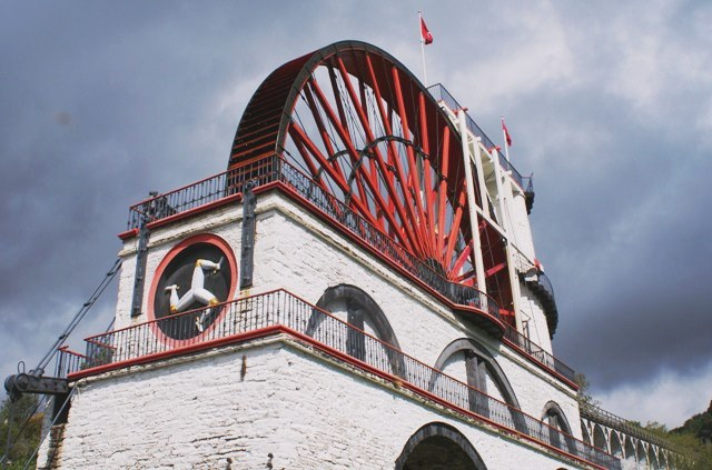 The Laxey Wheel Isle of Man