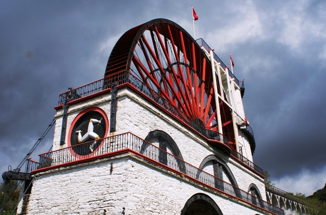 The Laxey Wheel Isle of Man = photo Zoe Dawes