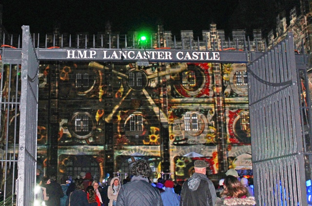 Lock and Key - Light up Lancaster Castle - photo zoedawes