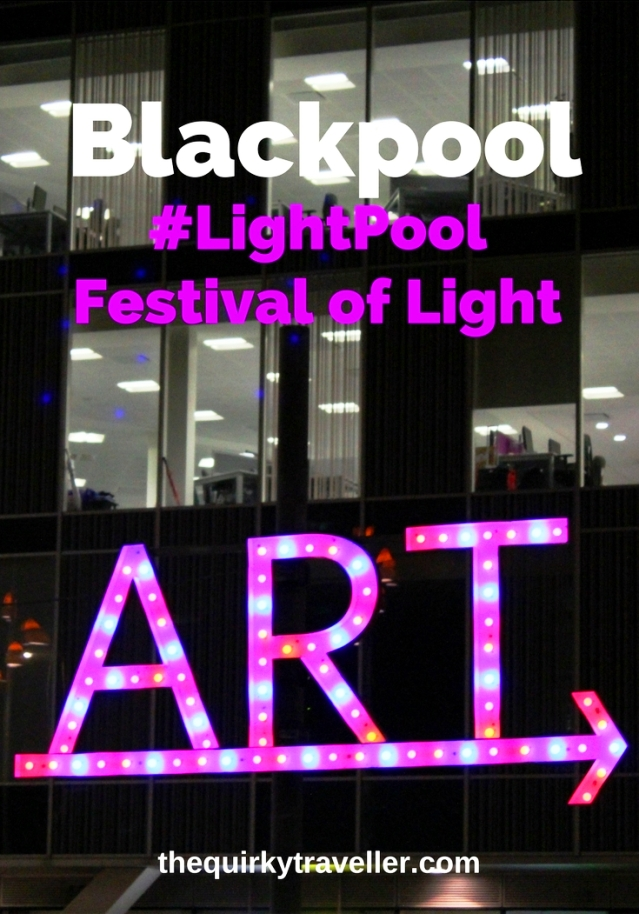 #LightPool Festival of Light Blackpool - image zoedawes