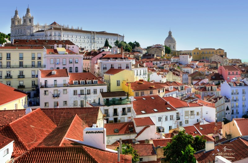 Alfama area in Lisbon, Portugal Credit Holidu