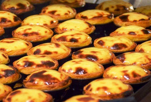 Lisbon tarts Pasteis de Nata