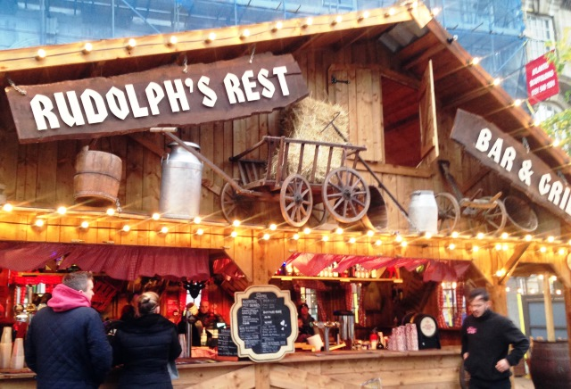 Liverpool Christmas Market - Rudolph's Rest - photo zoedawes