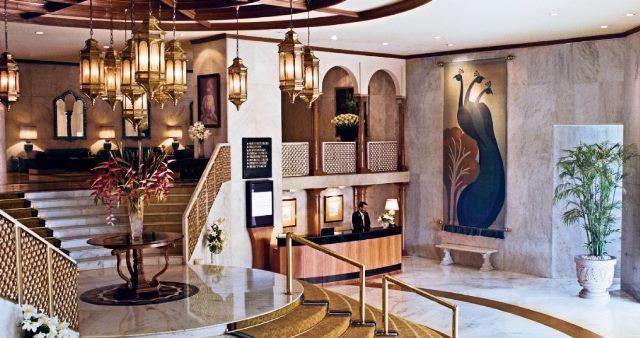Taj Diplomatic Enclave Hotel Lobby Delhi India