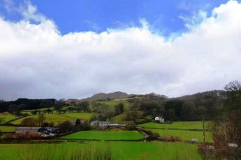 View from the Malt Kiln in the Furness Peninsula - Lake District