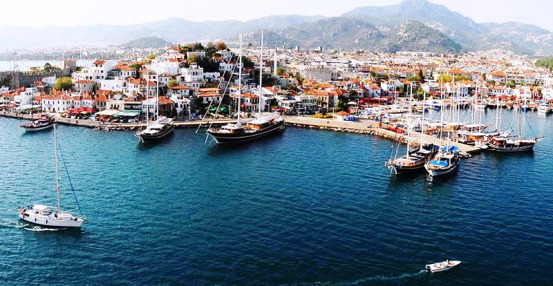 Marmaris harbour Muğla Province Turkey - photo Mstyslav Chernov