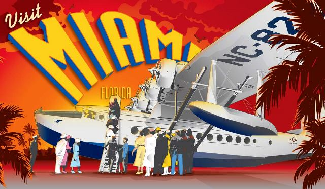 Golden age of travel posters