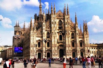 Milan Cathedral Il Duomo Italy - photo Zoe Dawes