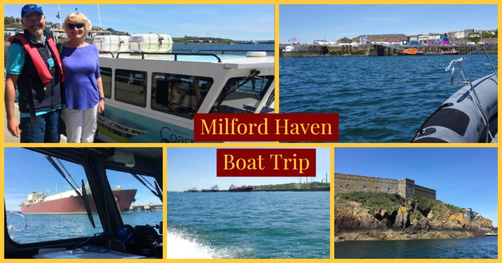 Coast and Cleddau Boat Trip, Milford Haven, Pembrokeshire - image by Zoe Dawes