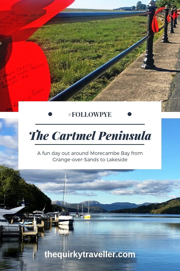 A day out around the Cartmel Peninsula beside Morecambe Bay with The Quirky Traveller