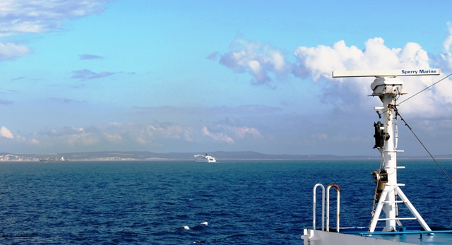 My Ferry Link across The Channel - image zoe dawes