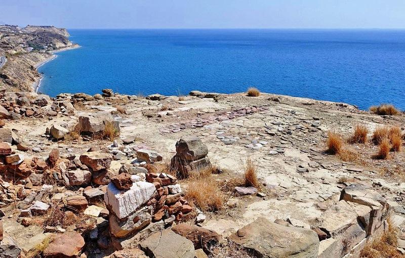 Myrtos Pyrgos Minoan Crete site
