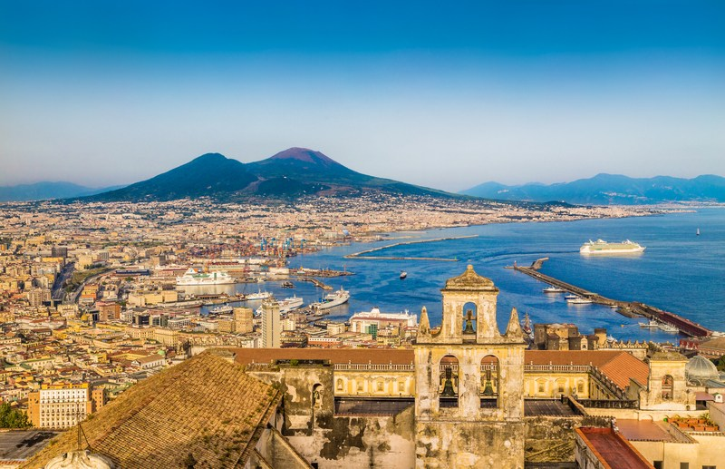 Naples-and-Mount-Vesuvius Italy