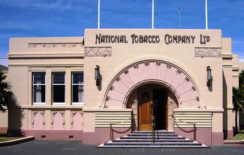 National_Tobacco_Company_Ltd_building_in_Napier,_New_Zealand - image Alan Liefting