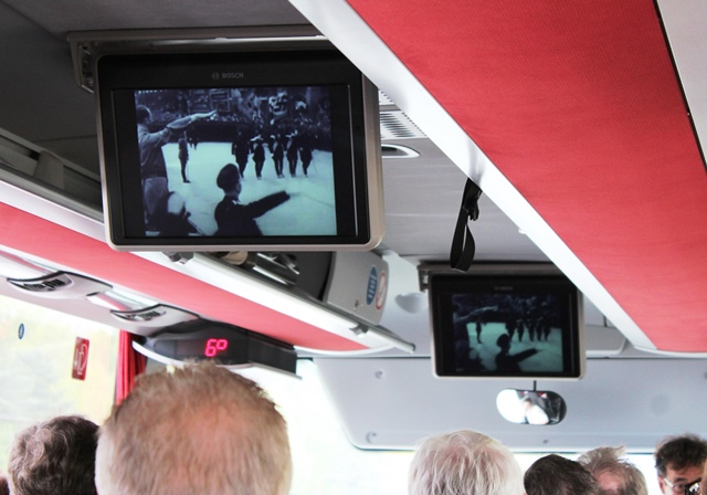 'A Triumph of Will' by Leni Riefenstahl. Nazi Rally Gournds BusTour Nuremberg Germany - photo zoe dawes