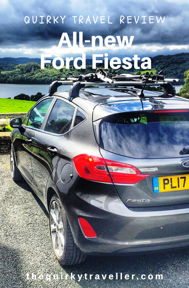 Quirky Travel Review - New Ford Fiesta