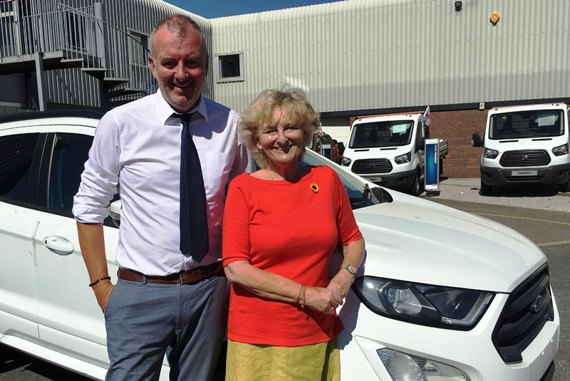 Nick Payne and Zoe Pye Motors Morecambe