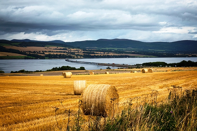 North Coast 500 Black Isle towards Cromarty Bridge - photo Angus Matheson