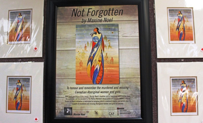 Not Forgotten by Maxine Noel at Head-Smashed-In-Buffalo-Jump in Alberta Canada