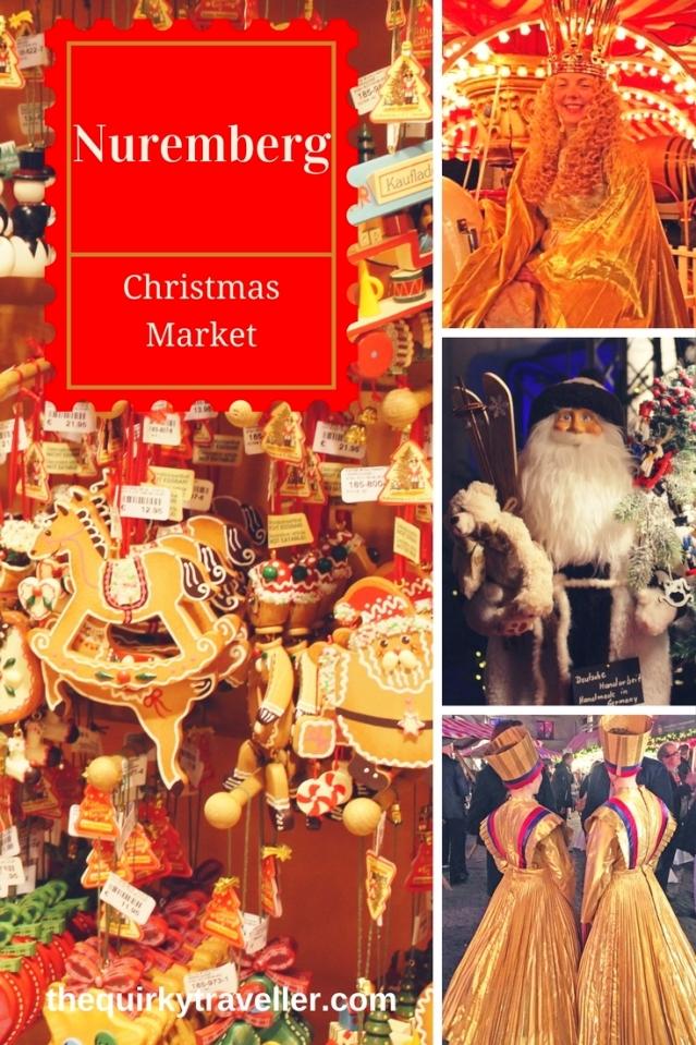 Nuremberg Christmas Market Germany - Pinterest image Zoe Dawes