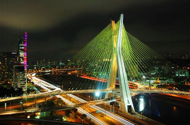 Octavio Frias de Oliveira Bridge - photo marcosleal