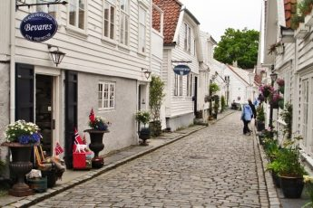 Old-Stavanger-street Norway