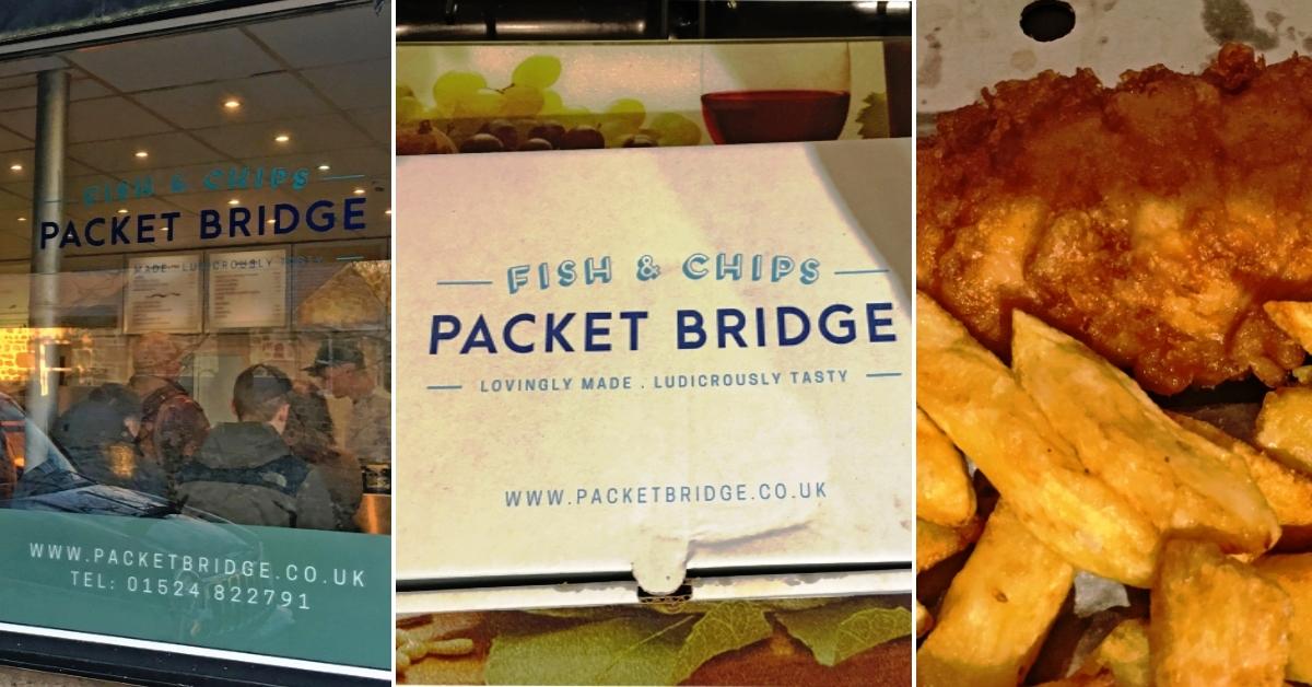 Packet Bridge Fish and Chip shop Bolton le Sands