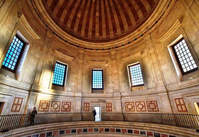 The Pantheon Dome Lisbon Portugal