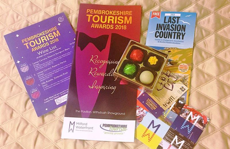 Pembrokeshire Tourism Awards 2018