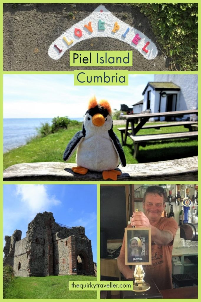 Piel Island Collage by The Quirky Traveller