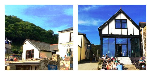 Rashleigh Inn and Sam's on the Beach Polkerris Cornwall - image zoedawes