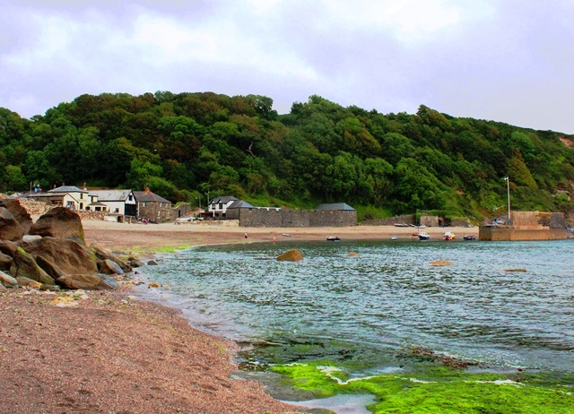 Polkerris Beach Cornwall - photo zoedawes