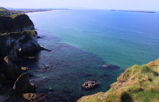 The Skerries and Portrush from Magheracross Viewpoint Causeway Coast Northern Ireland - zoedawes