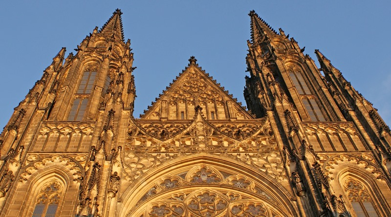 Exterior of St Vitus Cathedral Prague - photo The Quirky Traveller