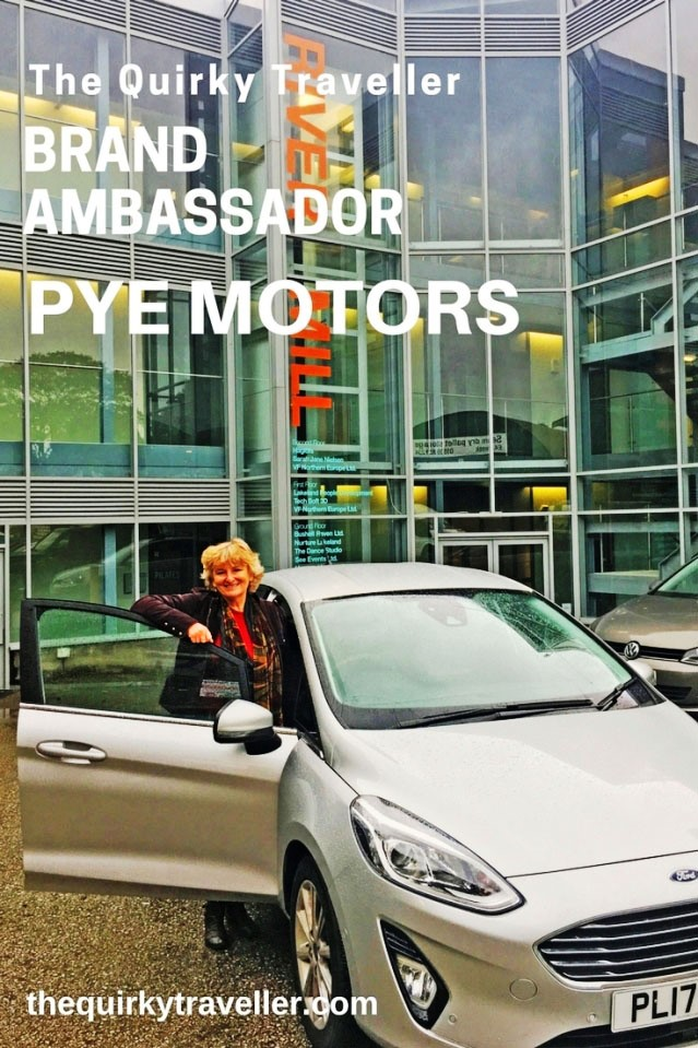 The Quirky Traveller Pye Motors Brand Ambassador