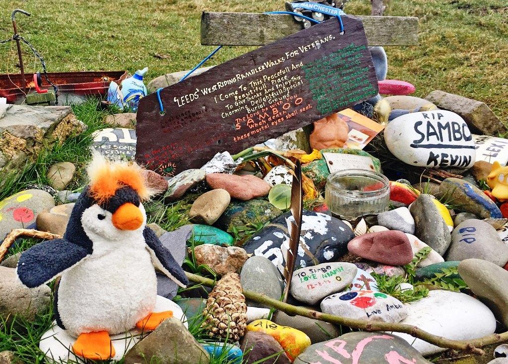 Sambo's Grave Sunderland Point - Day Out Morecambe Bay