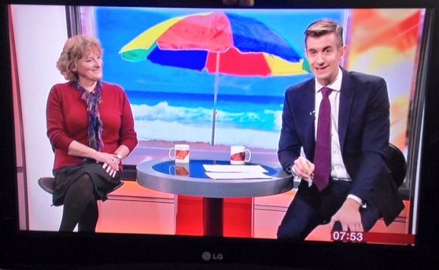 The Quirky Traveller on BBC Breakfast TV - Zoe Dawes