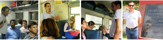 Historian Raaja Basin om the Toy Train to Shimla - image Zoe Dawes