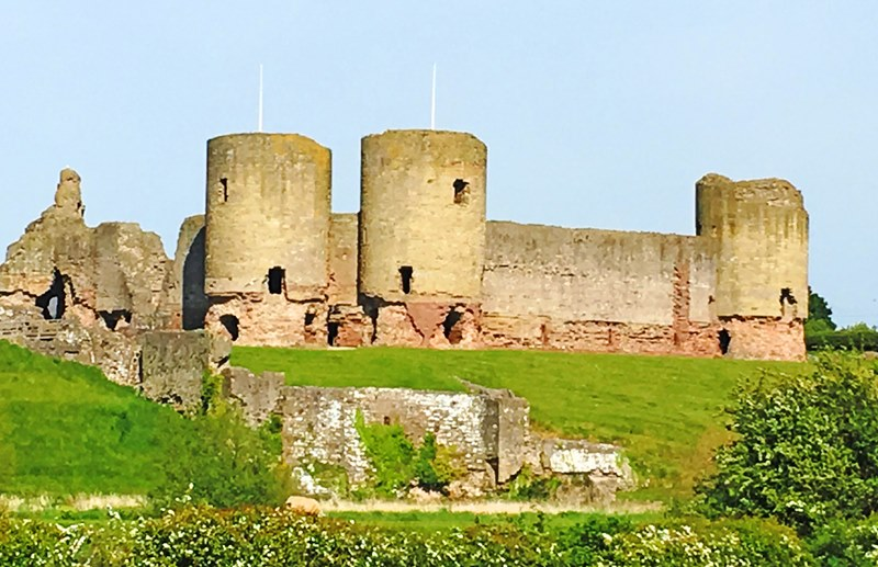 Rhuddlan Castle North East Wales