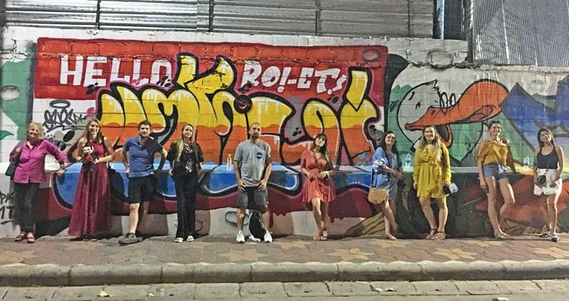 Roi Et street art in Thailand