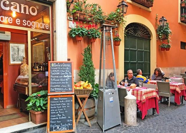 Rome restaurant L'Arcano