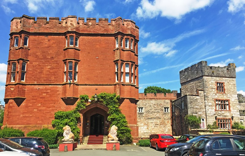Ruthin Castle Hotel Denbighshire North East Wales
