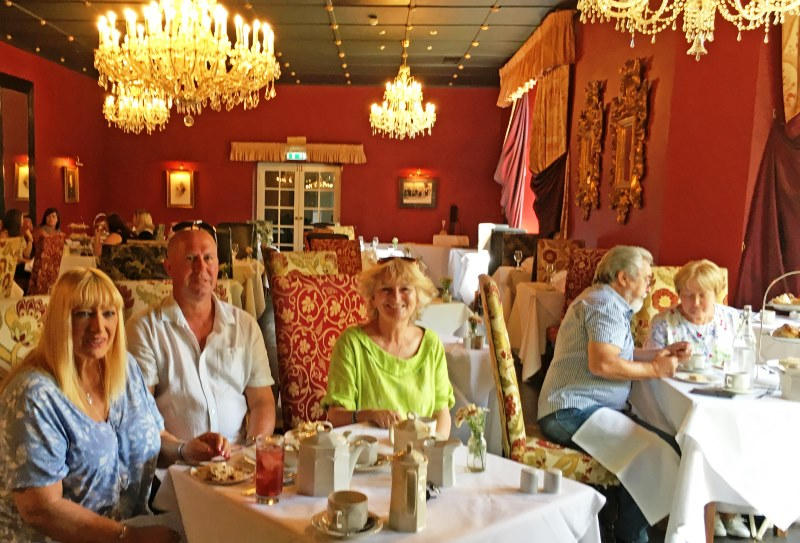 Afternoon Tea at Bertie's Restaurant Ruthin Castle North East Wales