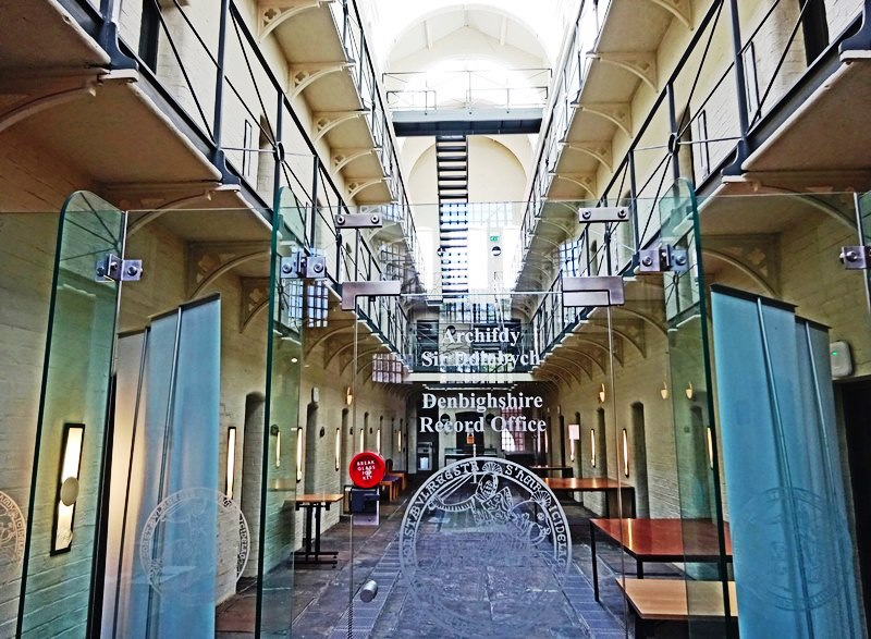 Ruthin Gaol Prison - North East Wales - photo Zoe Dawes