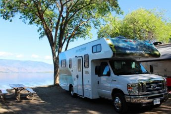 RV Nk'Mip campground Osoyoos