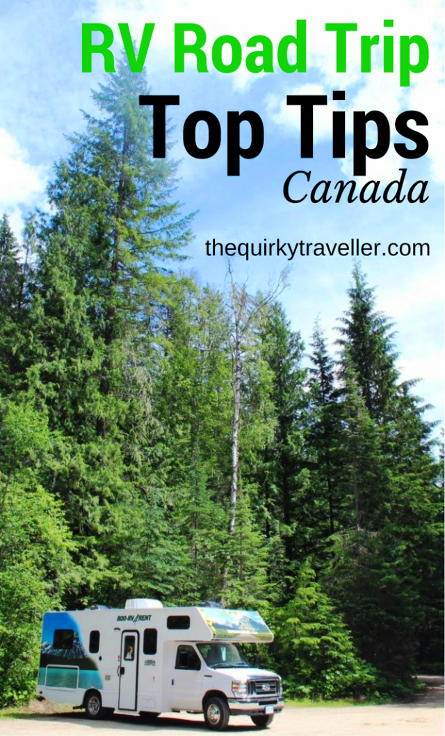 Top Tips for Canada RV Road Trip