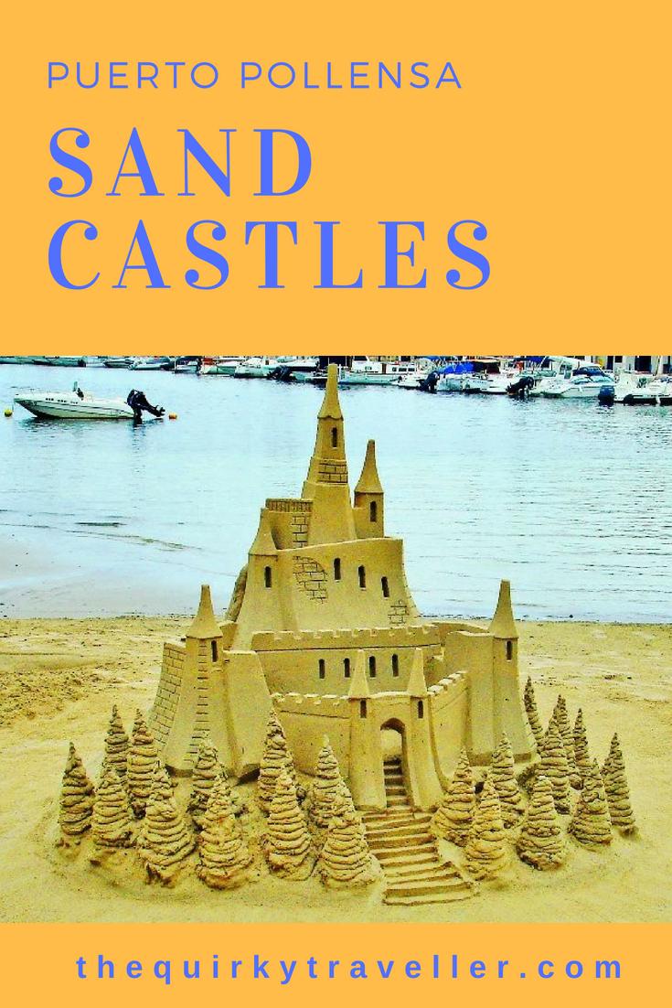 Sandcastles in Puerto Pollensa Majorca